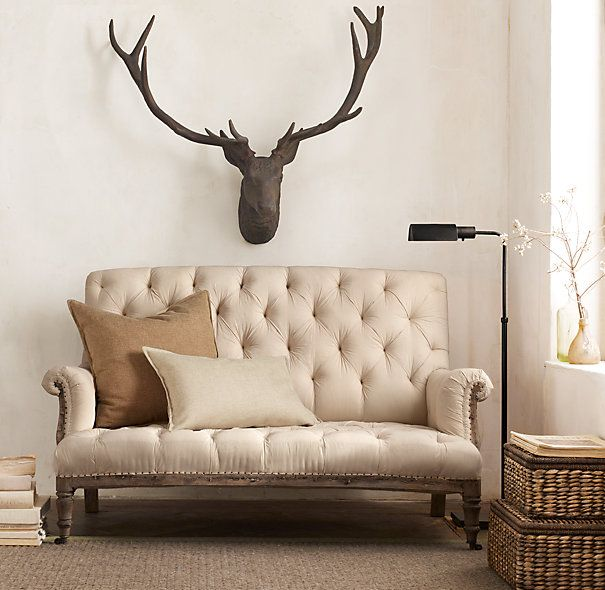 Restoration Hardware - 1890 Stag Head