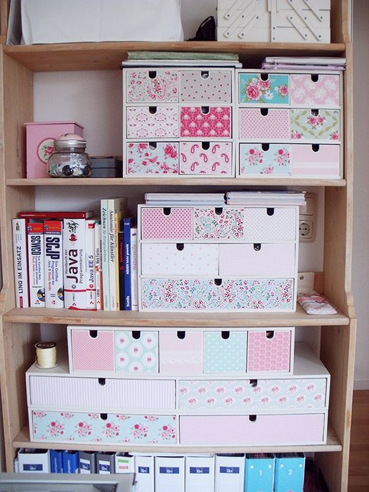 DIY Homedeko! » IKEA HAck  Must do this for Family room & craft room.