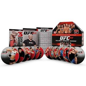 Buy UFC FIT 12-Week Home Training Weight Loss Exercise Fitness DVD Workout Program