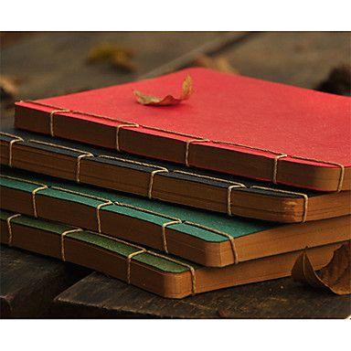 Blocs de notas lindas Tapa blanda Vintage (colores aleatorios, 1) – CLP $ 34.242