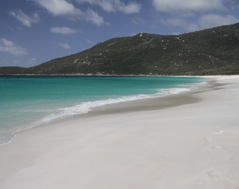 Waterloo Bay in Wilsons Promontory Australia