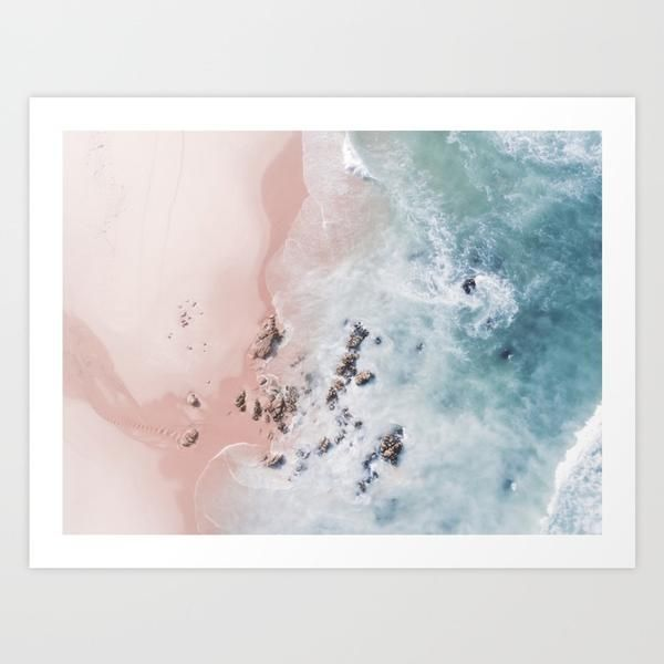 Sea Bliss Art Print – Grace