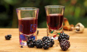how to make blackberry wine and whiskey