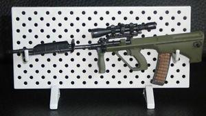 1/6 AOSHIMA ARMS COL Rifle Gun Weapon - Assault STEYR AUG Sniper Barrel #aoshima #rifle #steyr #sniper #barrel #1:6 #figure