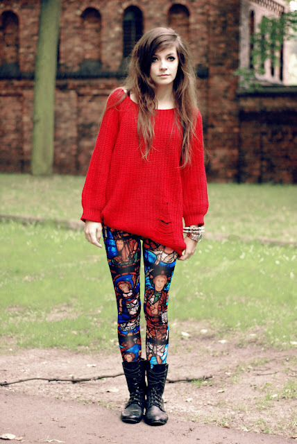 Womens Oversized Sweaters With Leggings 78
