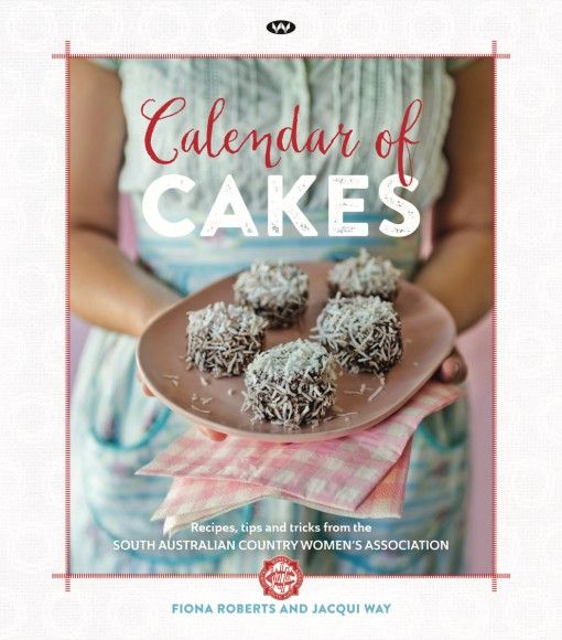 Calendar of Cakes CWA cookbook