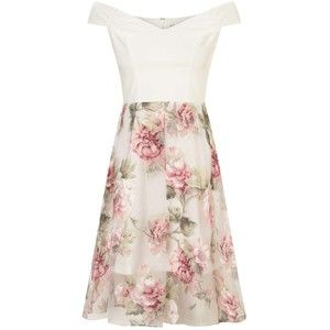 Miss Selfridge PETITE Bardot Floral Dress