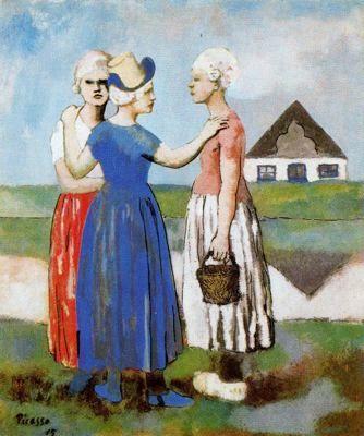 Las tres Holandesas, Pablo Ruiz Picasso 1905