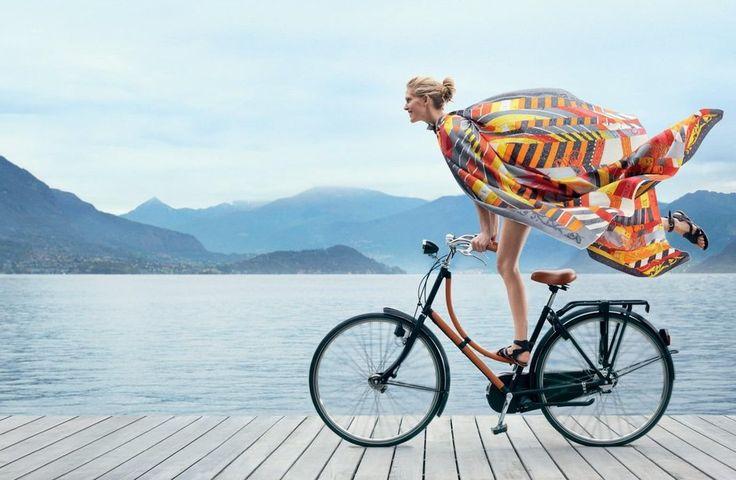 La #vita è come andare in #bicicletta, se vuoi stare in #equilibrio devi muoverti. [Albert #Einstein] #quote