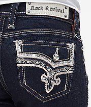 Rock Revival Jeans New Betty Skinny Fall 2014. Sales gal sent me a photo and viola they were in the mail and here in a day. love these dark dressy Rocks.