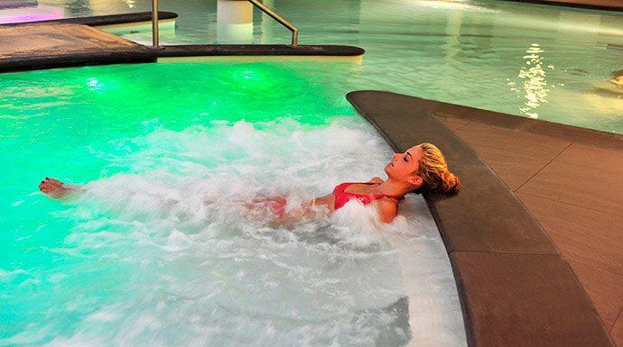 Thalassio Spa, #Alassio, #Liguria. Uno degli ambienti più suggestivi del Grand Hotel di Alassio. Il relax è a portata di mano!