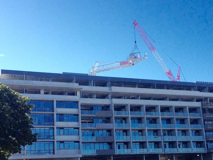 Removal of the crane