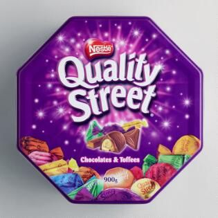 Quality Street Chocolate Tin