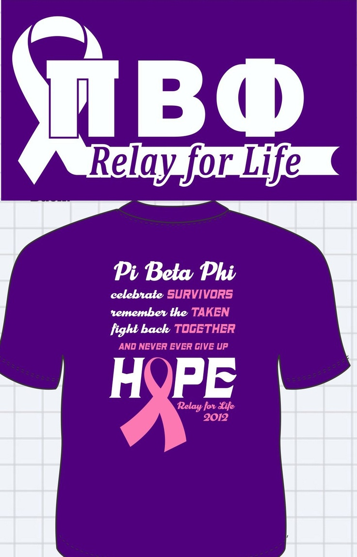 20 best images about relay for life on pinterest pi beta for Relay for life t shirt designs