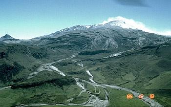 Nevado del Ruiz, by N. Banks on December 18, 1985