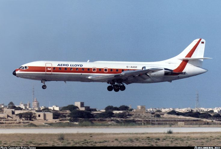 Sud SE-210 Caravelle 10B1R - Aero Lloyd | Aviation Photo #0241774 | Airliners.net