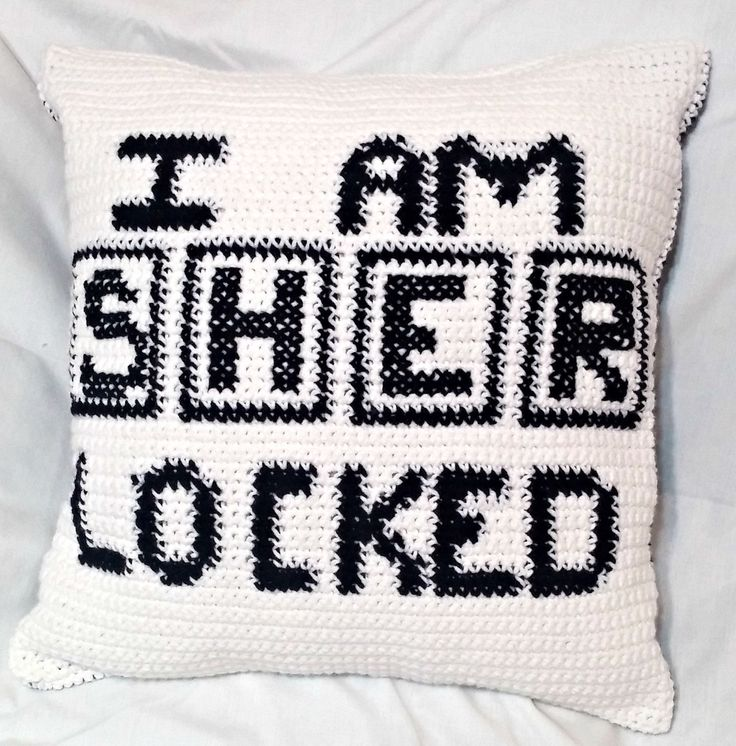 Pattern Only, Crochet Sherlock Pillow Case Pattern, Tutorial, Sherlocked Crochet Decorative Pillow Cushion Cover by ShaysCrochetCreation on Etsy