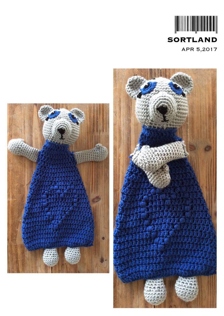 Teddy bear security blanket 🐻