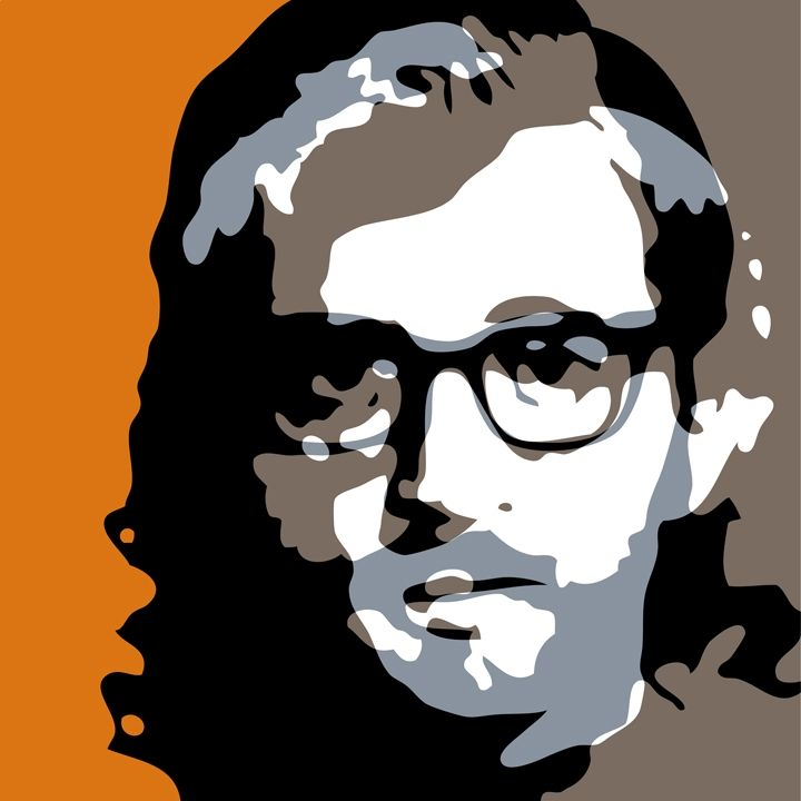 "Troy Gua: ""The Woody Allen Ginsberg, or Bananas and Reality Sandwiches"" (Woody Allen + Allen Ginsberg)"