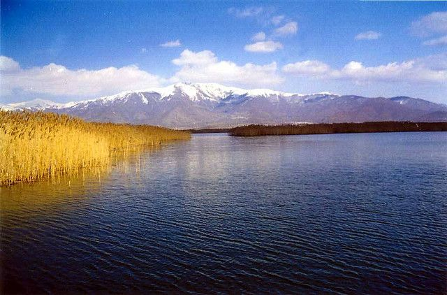 https://flic.kr/p/63CNRL | Δυτική Μακεδονία - Φλώρινα - Δήμος Πρεσπών Γέφυρα που ενώνει την όχθη με το νησάκι του Αγ. Αχιλλείου, Πρέσπες
