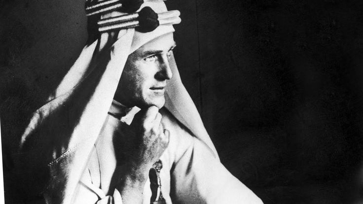 T.E. LAWRENCE - Lawrence z Arabii - HARDKOR HISTORY