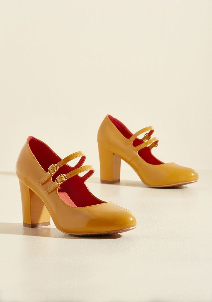 As you parade this sunflower yellow pair by Banned around town, you whistle a song that grows happier with each step.