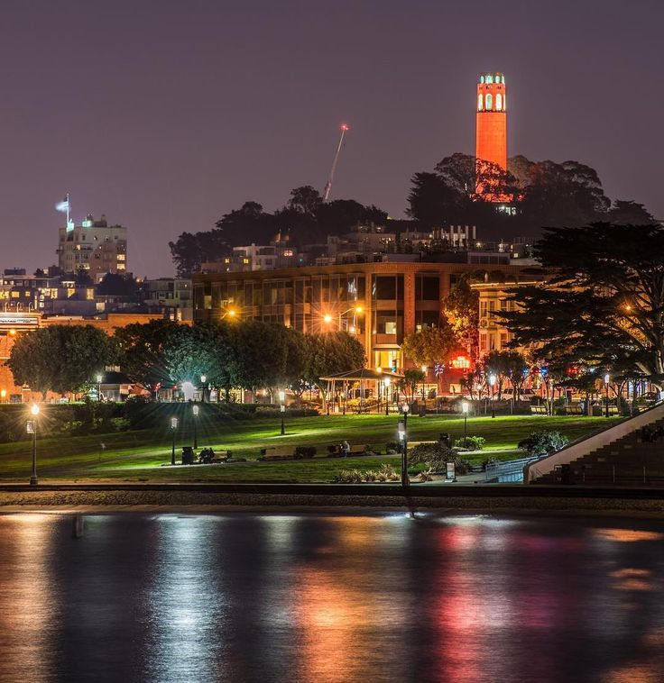 The Coit Tower in San Francisco by @gigglegiver2 #sanfrancisco #sf
