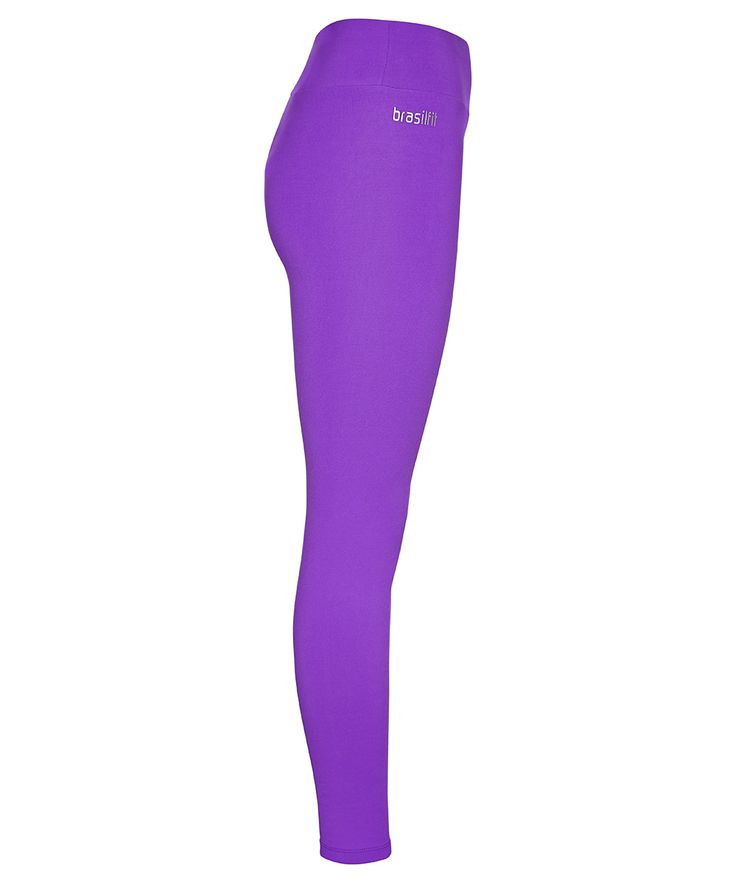 Energize your workout with electric purple leggings.  Now available at www.brasilfitusa.com #brasilfitusa #lovedbyeverybody
