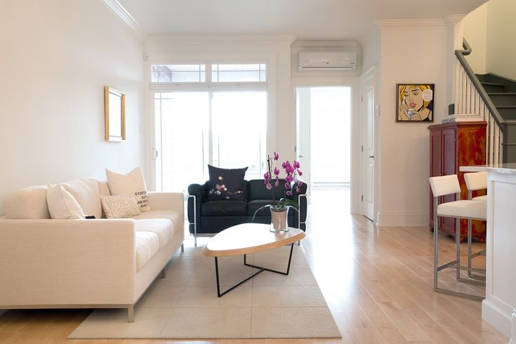 We recently partnered with a client to make her home #clean and #modern, with #minimalist layout, and have #white, #airy spaces. #interiordesign #tuckstudio #tuckinteriors #residential