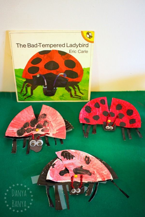 The Bad Tempered Ladybird craft for kids via @rainydaymum