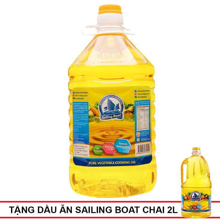 Dầu Ăn Sailing Boat Chai 5L – Shop Mẹ Bốp