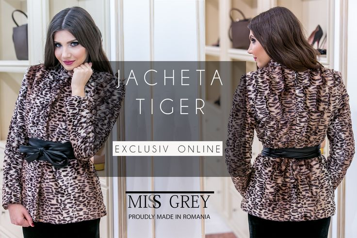 Winter was made for chic outerwear and elegant appearances. Shop your own piece of joy, here: https://missgrey.ro/ro/home/jacheta-tiger/242?utm_campaign=iarna1&utm_medium=regular_post&utm_source=pinterest_produs