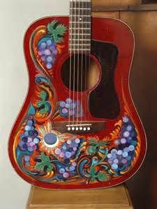 159 Best Images About Music Painted Guitars On Pinterest