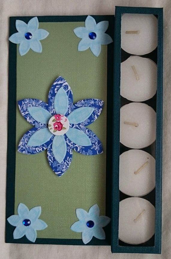 Handmade Tea Light Holder Card for Any Occasion by BavsCrafts