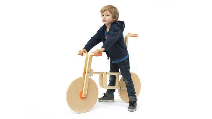 Draisienne Balance Bike as an Ultimate IKEA Stool Hac