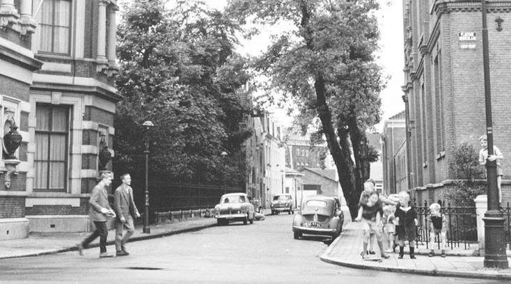 Ach wat leuk, vlakbij woonde ik!Amsterdam: De Plantage Lepellaan - 1958 Irka