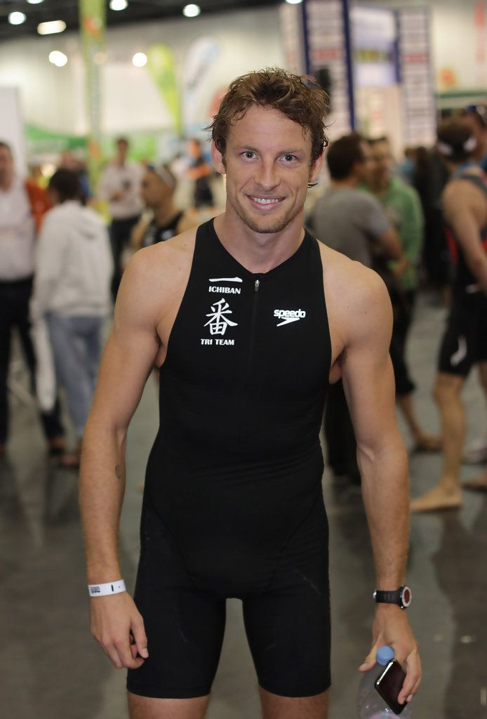Jenson Button - Challenger World London Triathlon 2010