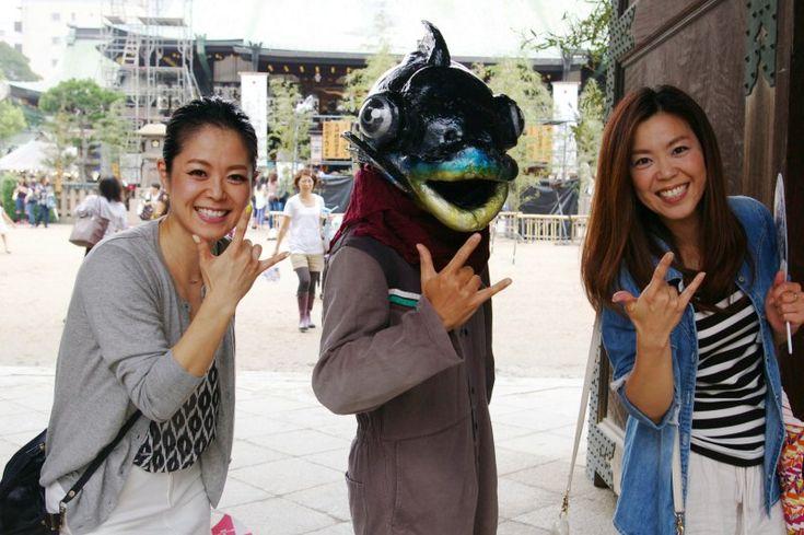 『「星愛七夕まつり」で出会ったみなさんなのだ!の巻(パート1)』http://ameblo.jp/hangyo-kun/entry-11894440561.html