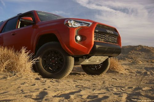 The Toyota 4Runner takes on mud, sand, rocks and more thanks to upgrades from Toyota Racing Development.