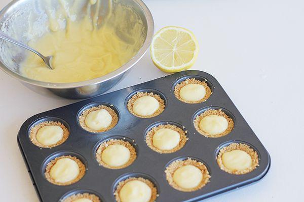 Mini lemon meringues recipe