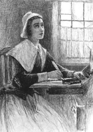 """female writers anne bradstreet john and The prologue by anne bradstreet analysis and summary anne bradstreet's poem, """"the prologue,"""" portrays the struggles of being a woman in a puritan society."""