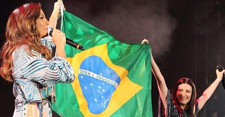 Ivete Sangalo canta ao lado de Laura Pausini em Nova York