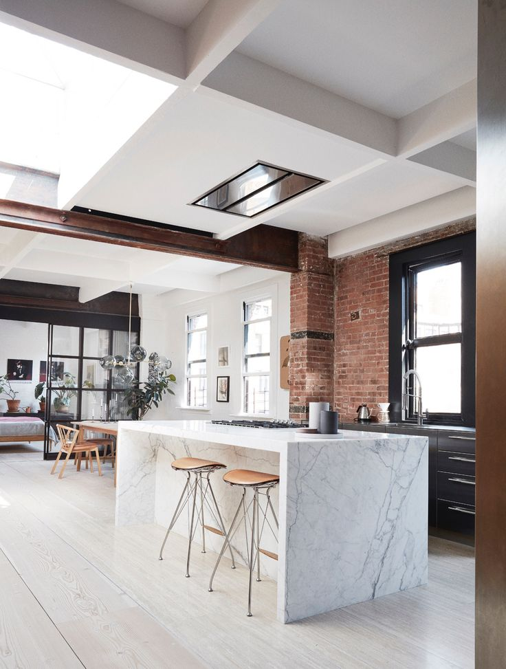Tribeca Loft By Soren Rose And Wire Bar Stools By Overgaard U0026 Dyrman   Www.
