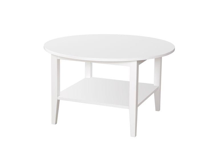 EMMA Soffbord Rund Vit i gruppen Inomhus / Bord / Soffbord hos Furniturebox (100-11-15125)