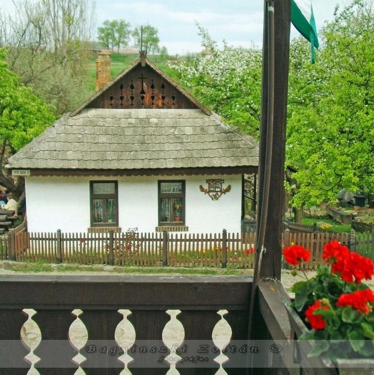 Hungarian folk architecture / parasztház