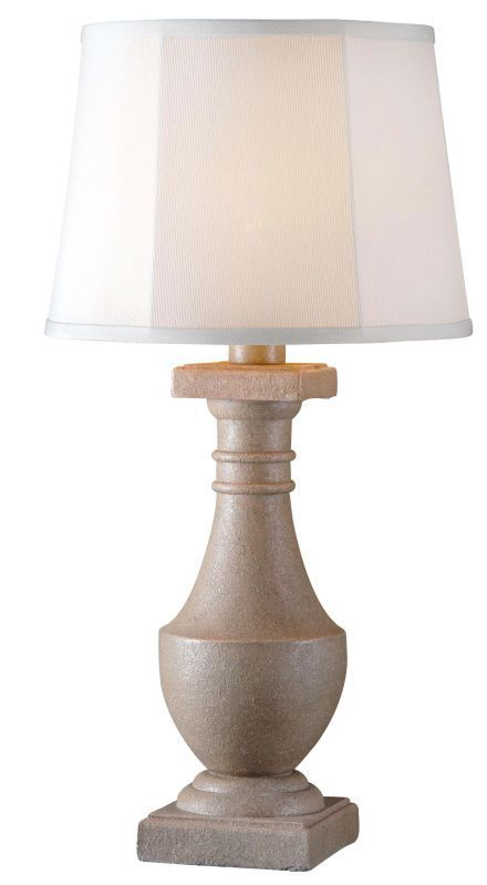 Kenroy Home 32223 Patio 1 Light Outdoor Table Lamp Coquina Lamps Table Lamps Accent Lamps