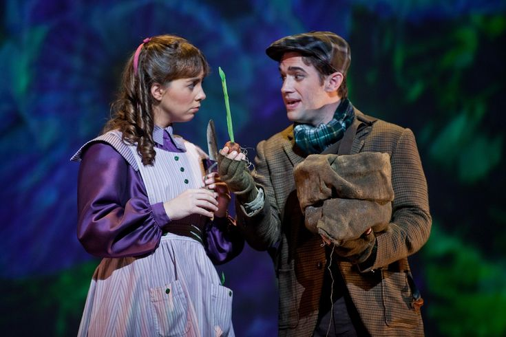 Sarah Shafer shone brightly as young Mary Lennox, with tenor Scott Joiner…