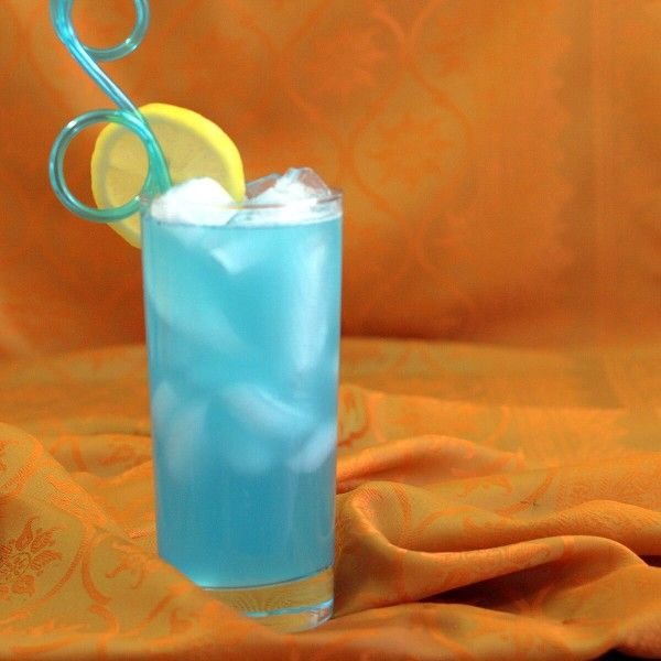 If you've ever thought the Long Island Iced Tea should be blue, it's time to meet the Blue Long Island cocktail. It replaces the cola blue Curaçao, so it's got a wonderful orange and citrus flavor.
