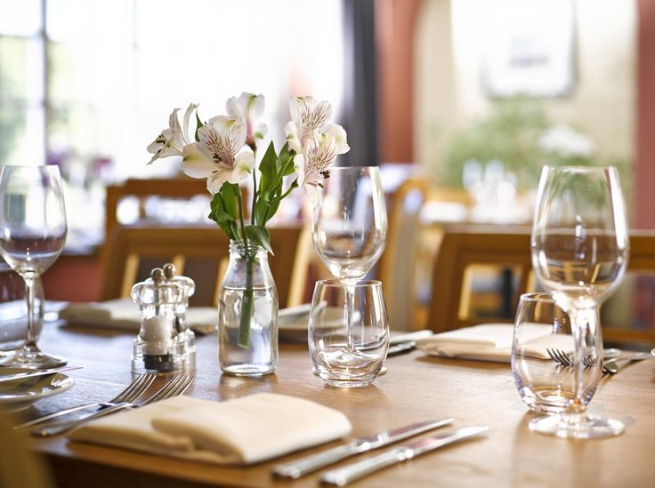 The Clive is about 8 miles from us at the Ludlow Food Centre. It offers smart but unfussy dining