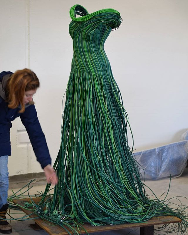 Weeks of work with the sculptures for #stockbyreturpark is coming to an end  #circulardesign #reuse #upcycling #recycling